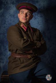 Lieutenant d'infanterie - hiver