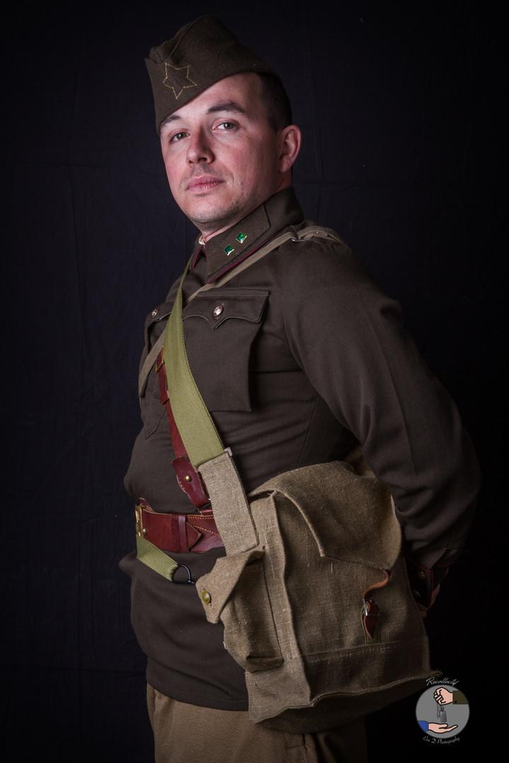 Lieutenant d'infanterie - 1941/1943