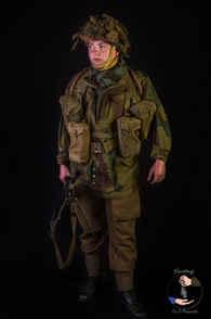 Bren Gunner - 9th Parachute Battalion