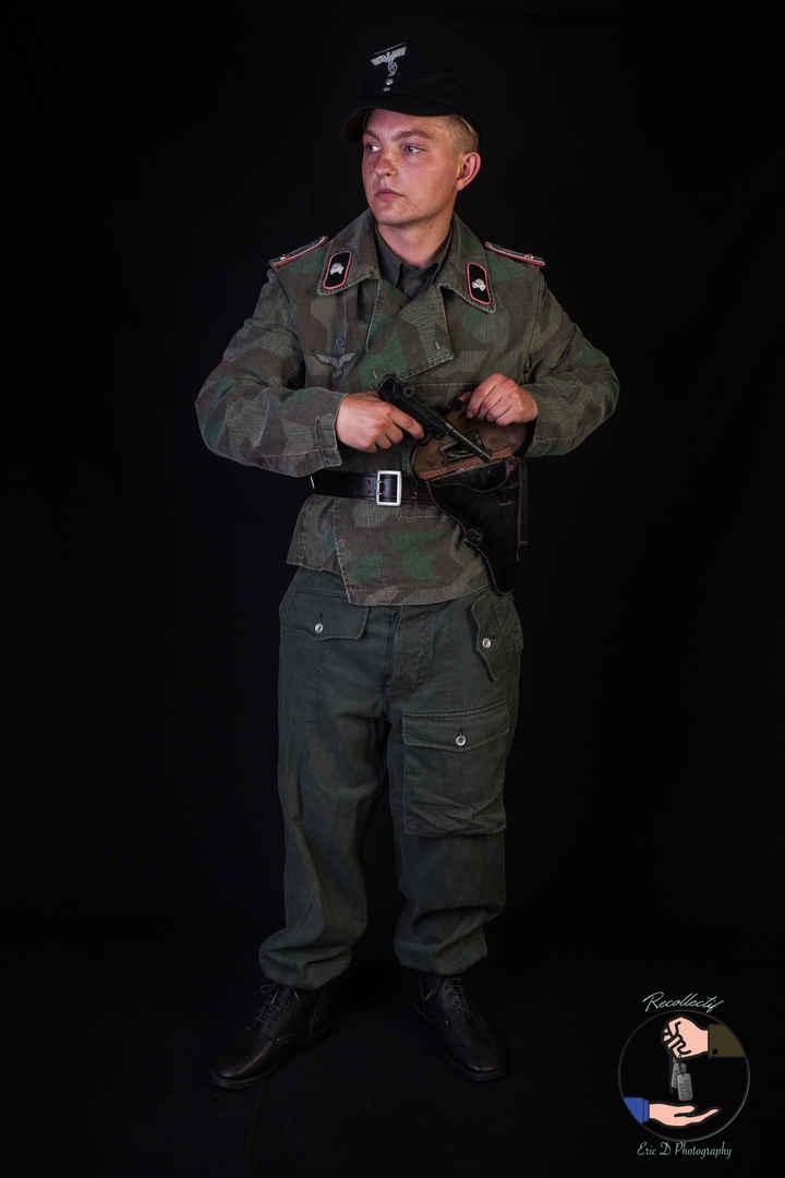 Officier tankiste - 1943/1945