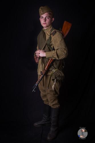 Servant d'artillerie - 1944/1945