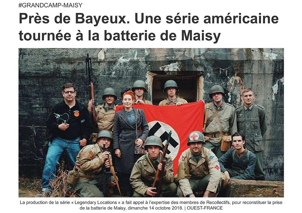 Ouest France - 15 octobre 2018