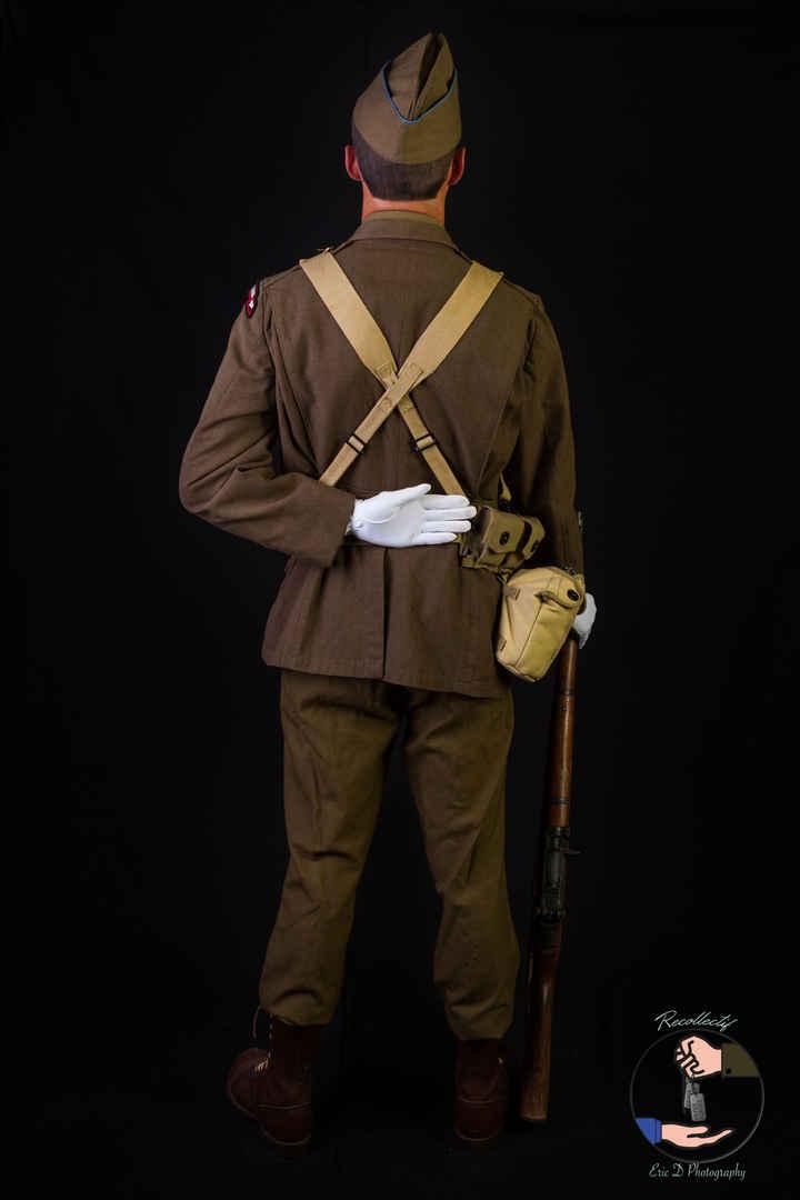 Color Guard - 2nd Rangers Battalion