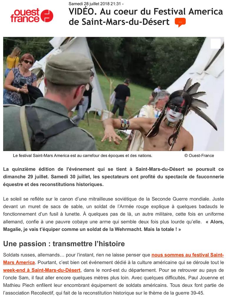 Ouest France - 28 juillet 2018 (1)