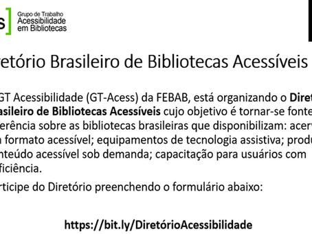 Diretório Brasileiro de Bibliotecas Acessíveis