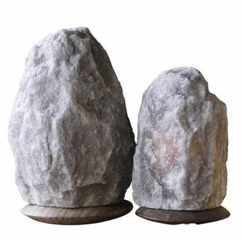 All-Natural Himalayan Salt Lamp: GRAY
