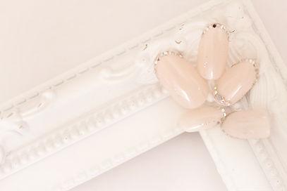 ブライダルネイル 品の良いネイル 婚活ネイル ネイルサロン  川崎市 神奈川県