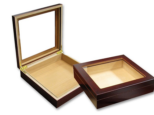 Humidor 20ct Glass Top