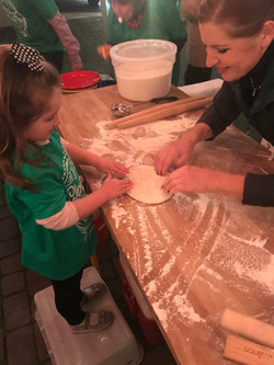 We love having the kids help!