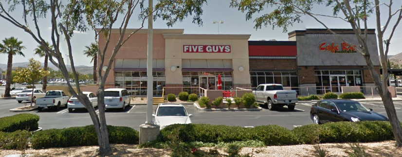 Five Guys in Palmdale