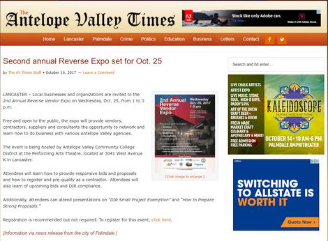 Reverse Expo Event