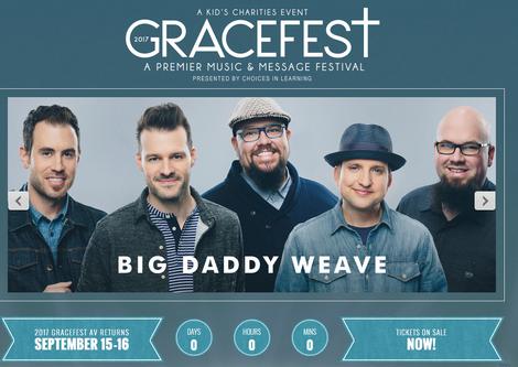 Missed Gracefest :(