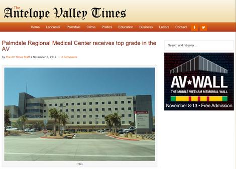 Congrats to Palmdale Regional!