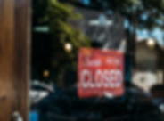 Sorry we're closed sign - Photo by Kaiqu