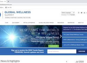 Global Wellness Summit scheduled for November 2020