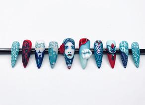 Chantelle Ayres wins Graffiti nail competition
