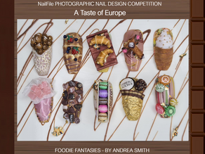 Andrea Smith wins Foodie Fantasies nail competition