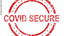 COVID Secure sign - Image by Pete Linfor