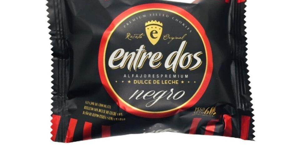 Alfajor Negro con Dulce de Leche Entre Dos 60 Gramos
