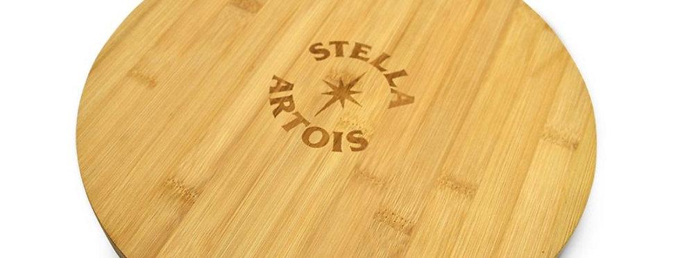 Stella Artois Tabla de Pizza Madera