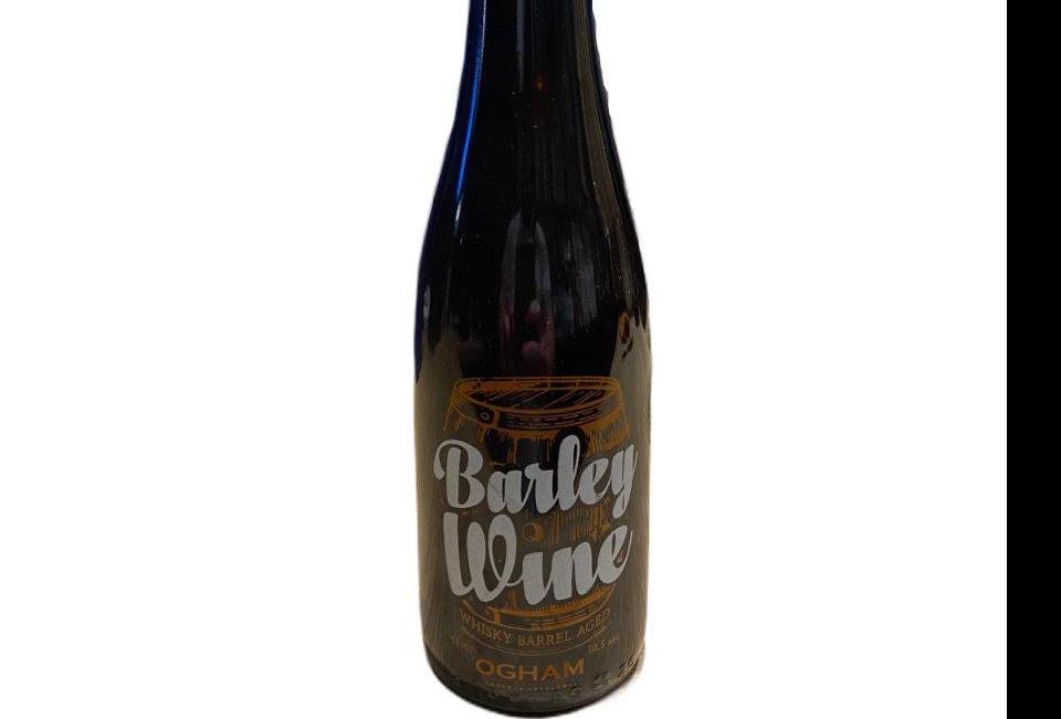 Ogham Barley Wine Porron 375cc