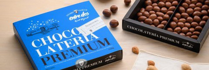Almendras con Chocolate 100 Gramos Entre Dos