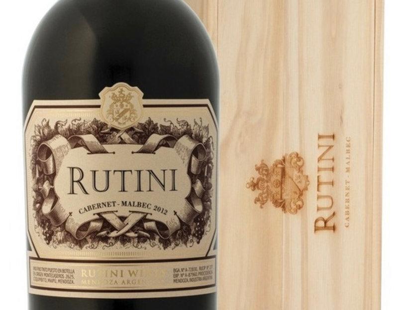 Rutini Cabernet Malbec Doble Magnum 3 litros + Estuche