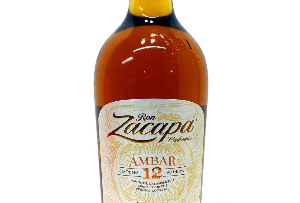 Ron Zacapa 12 años 750cc