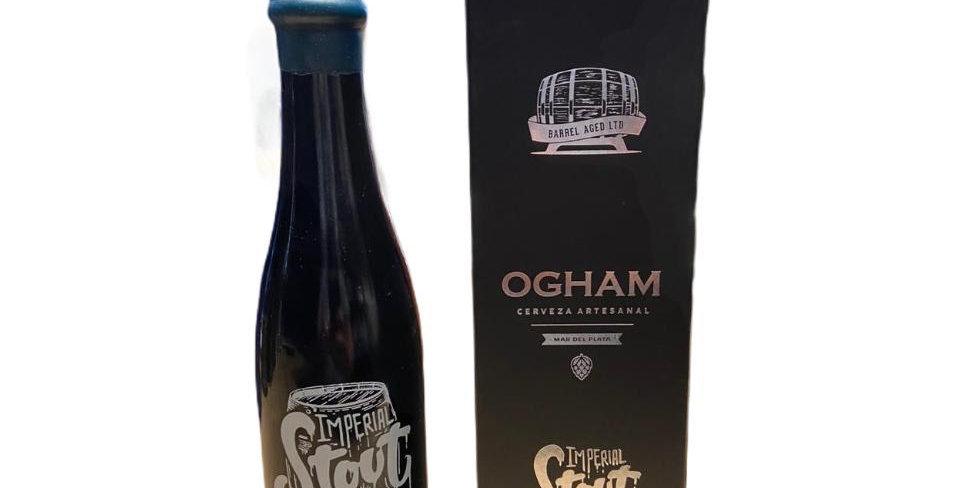 Ogham Imperial Stout Canela y Vainilla Porron 375cc + Estuche