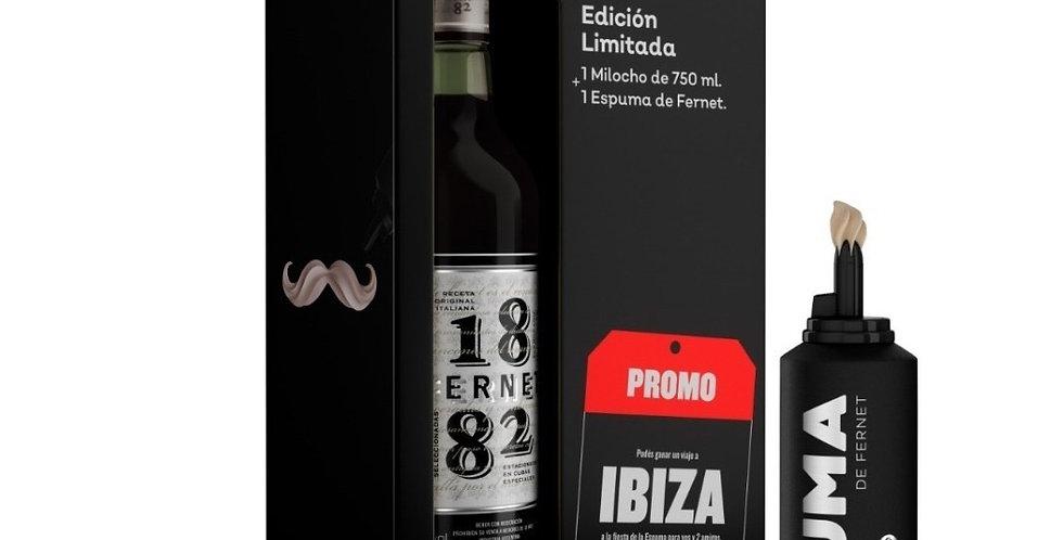 Fernet 1882 750cc + Espuma en Estuche