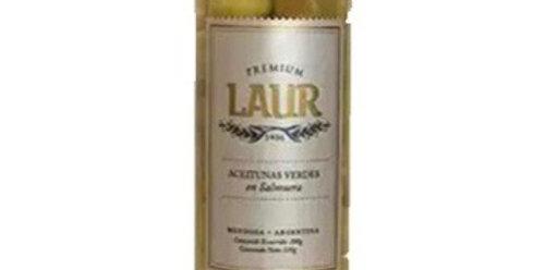 Aceitunas Verdes Grandes Premium en Salmuera 200 Gr. Laur