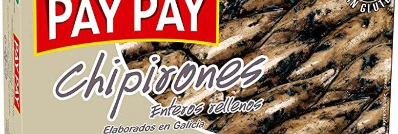Calamares Rellenos en su Tinta Pay Pay 115 Gramos