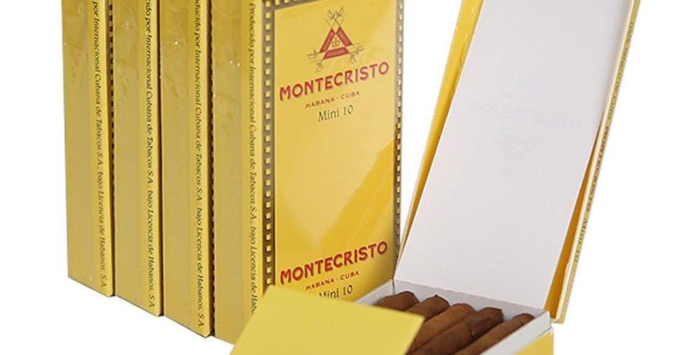 Montecristo Mini Caja x 10 Unidades