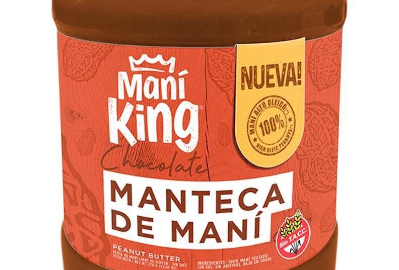 Manteca de Maní Sabor Chocolate 350Gr. Maní King