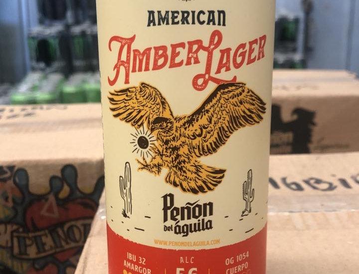 Peñon del Aguila American Amber Lager Lata 473cc
