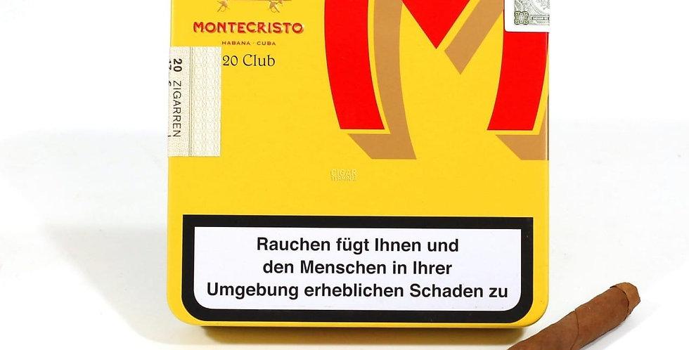 Montecristo Club Caja x 20 unidades