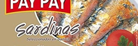 Sardinas en Salsa de Tomate Pay Pay 120 Gramos