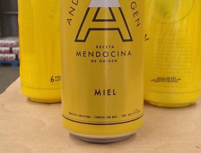 Andes Miel 473cc - Pack x 24un