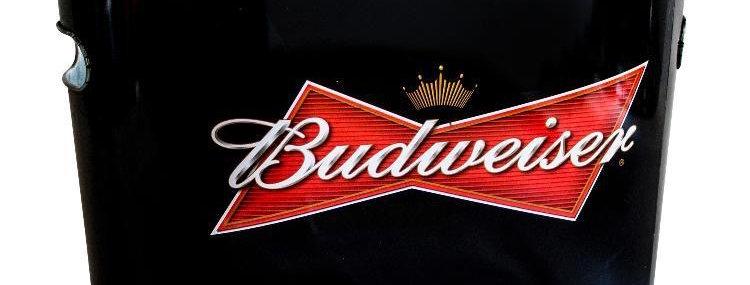 Frapera Budweiser Chapa 30 x 19 x 17 cm