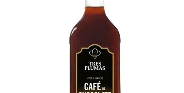 Cafe al Chocolate Tres Plumas 750cc