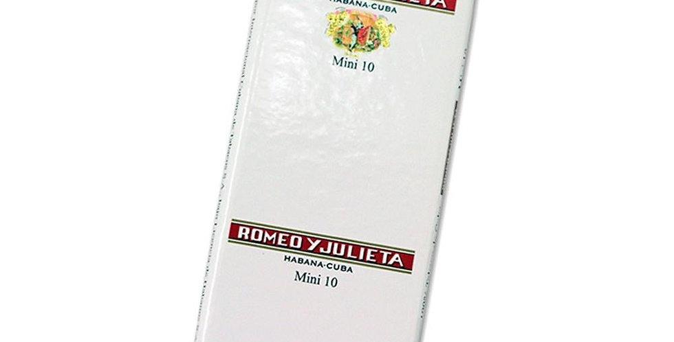 Romeo y Julieta Mini Caja x 10 Unidades