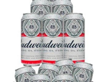 Frapera de Plastico Oficial Budweiser con manijas