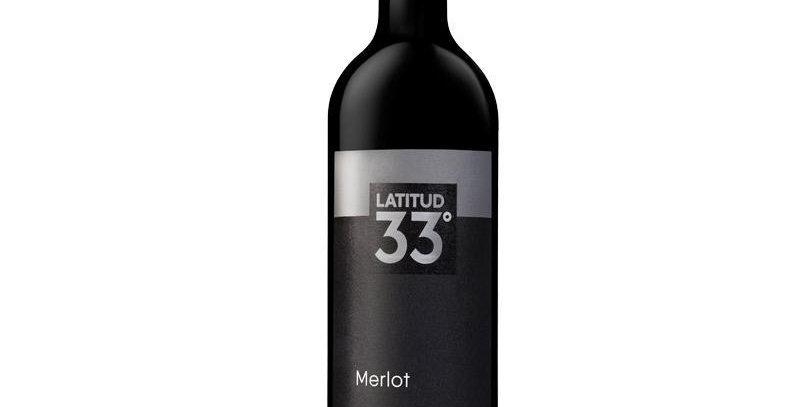 Latitud 33 Merlot 750cc