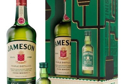 Jameson 750cc + Jameson Ipa 50cc con Estuche