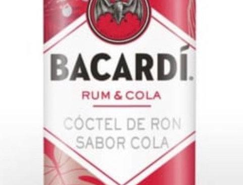 Bacardi Ron con Cola Lata 310cc