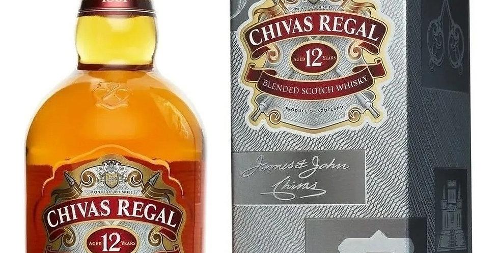Chivas Regal 12 Años 750cc