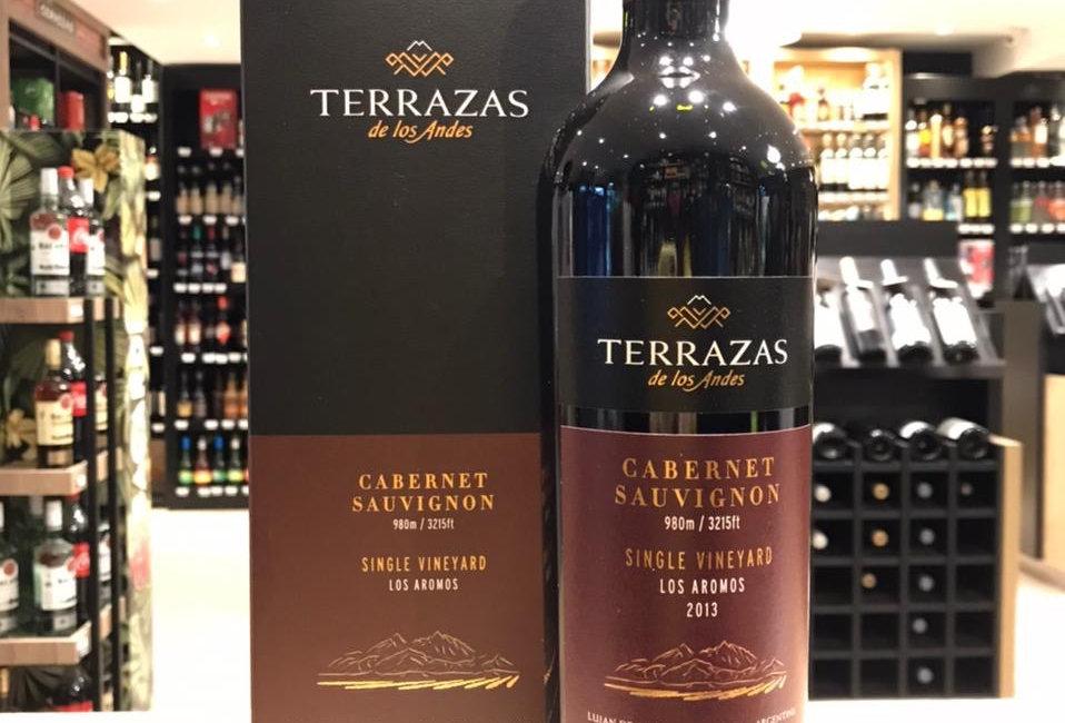 Terrazas Single Vineyard Cabernet Sauvignon 750cc Estuche