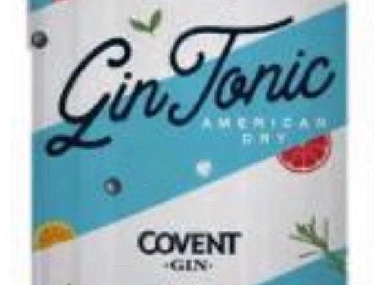 Gin Tonic London Dry Peñon del Aguila Covent Lata 354cc