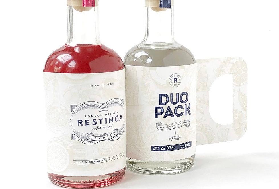 Restinga Pack Dúo 375cc (London Dry + Destilado de Otoño)