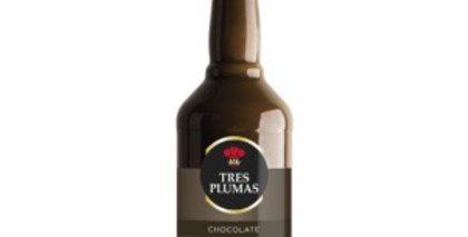 Licor de Chocolate 700cc Tres Plumas